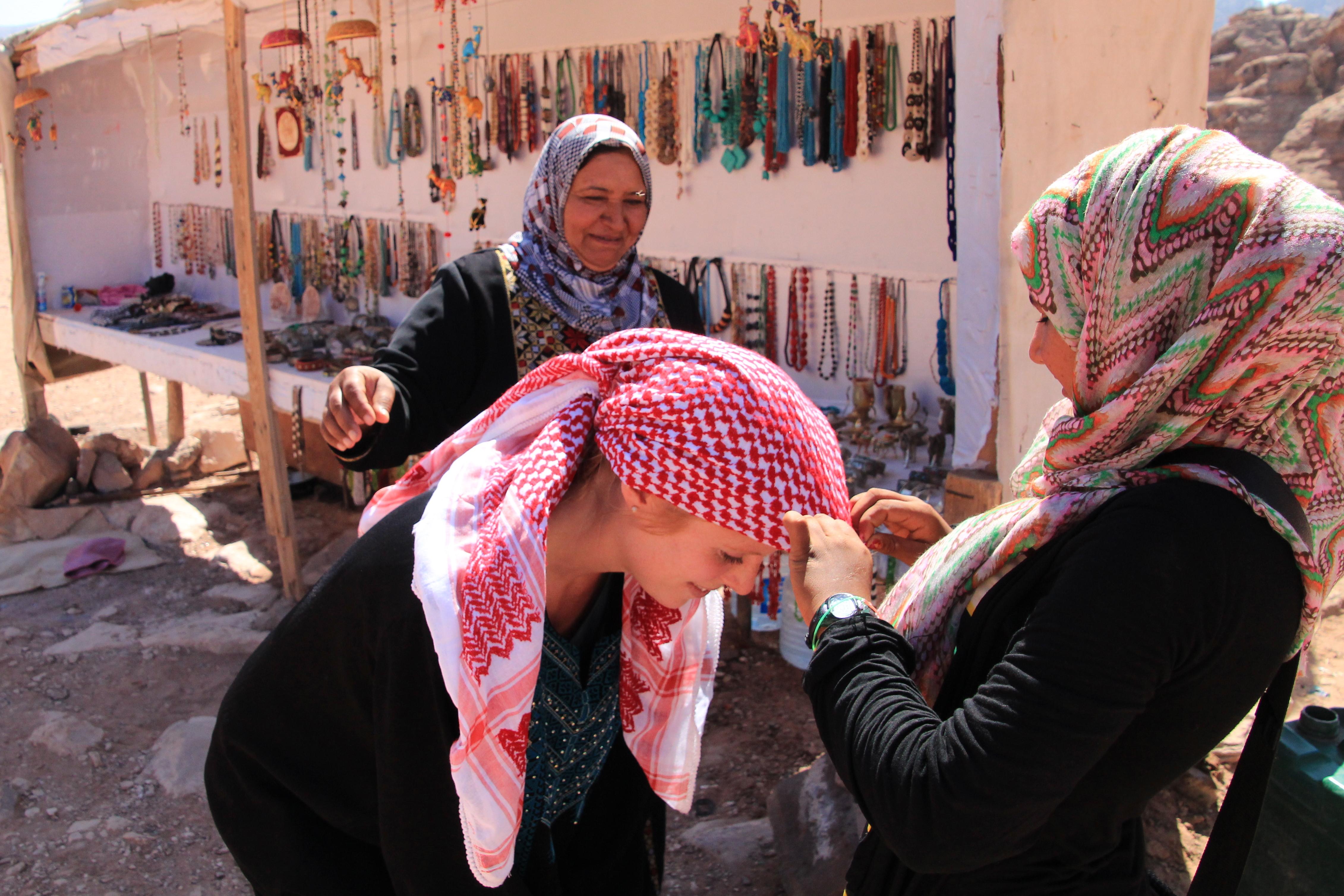 Original Jordanian Women Dress Code Lt  This Woman Is Wearing